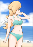Rosalina Beach Galaxy by mrgardenart