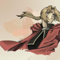Edward Elric by FallenDaw
