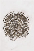 Celtic rose by wind666walker