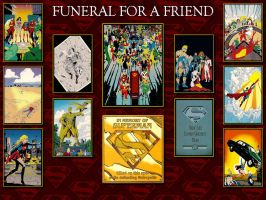 Superman Funeral For A Friend SkyBox Card WP by Superman8193