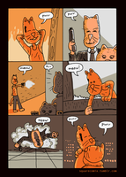 Die Hard Cats by naha-def