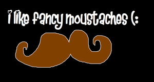 Moustaches - Wallpaper by AnimeExtremist