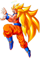 Goku SS3 by alexiscabo1