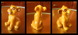 Lion King - Sitting Simba PVC by The-Toy-Chest