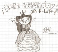 Happy Birthday JaviDluffy by HappySunglass