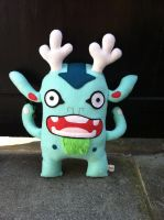 Mint Green Gordy by creaturekebab