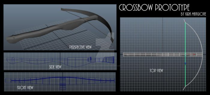 Crossbow Prototype by TwinkleCarnage