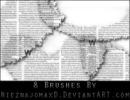 Brushes 002 by NieznajomaXD