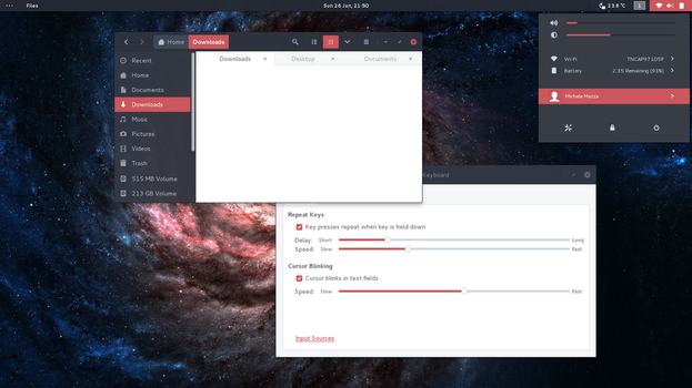 Arc Red GTK theme by mclmzz