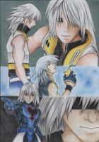Riku-Slip to the Void by HerOnceWhiteWings