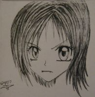 demented anime GIRL by psjp