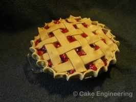 Cherry Pie Cake by cake-engineering