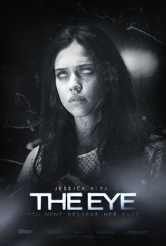 The Eye Movie Poster by sparco2