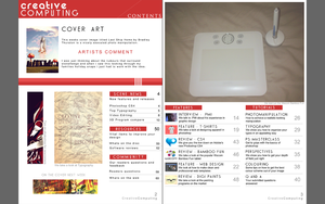 Magazine Contents Page by FD-Collateral