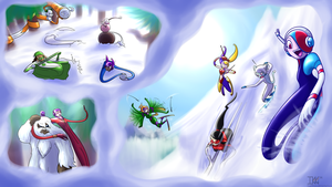 Holiday Hullabaloo - The Slopes! by LittleIkki
