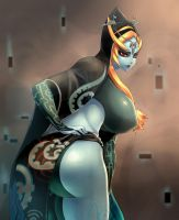 Midna True Form by Donaught