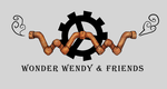 Wonder Wendy and Friends Logo by kkbook