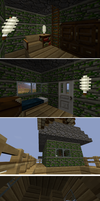 windmill and roof house tour by s1lverb0a