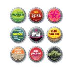 Bottle Caps Vector by ISMSH