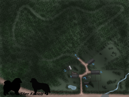 North Starr Ranch Map by Glorenx