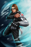 The Winter Soldier by GenghisKwan