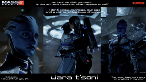 Liara 1 by ValerioN7