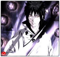 Uchiha Sasuke sanin of six paths by HollowCN