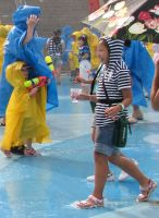 CARRYING WATER IN THE RAIN by CorazondeDios