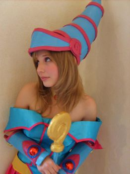 My new dark magician girl 1 by Taiychan