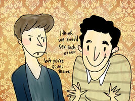Klaine- But You're Five by annit-the-conqueror