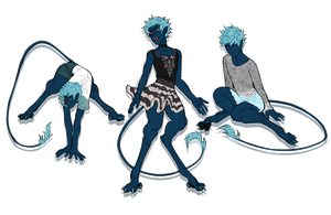 Aqua is your color by sandflake-adoptables