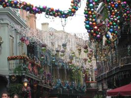 New Orleans Holiday by Saquena