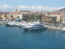 Port in Corsica by alannac1122