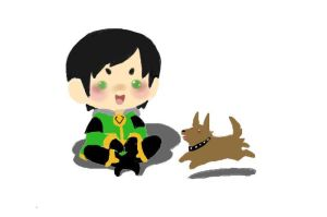 Just Chillen by EvilDemonKitty