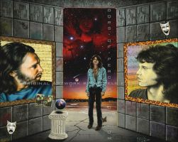 Jim-Morrison-Eye-of-Night by Michele-Fusco