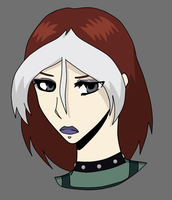 Rogue- Colored by Ebony-Rose13
