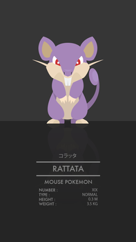 Rattata by WEAPONIX
