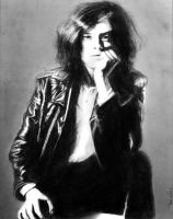 Jimmy Page by CarvinConcrete