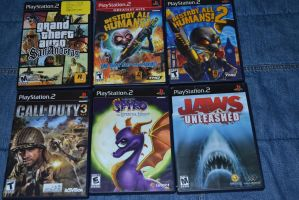 My Favorite Ps2 Games by Jaws1996