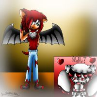 FLUFFY DARKY 83 by Kathy-the-echidna