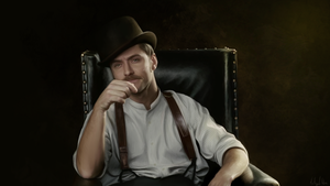 The Doctor -, Painting by Lasse17