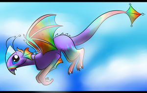 Rainboom by BipolarWolfy