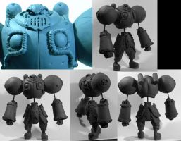 Battle Chasers: Calibretto WIP by SKBstudios
