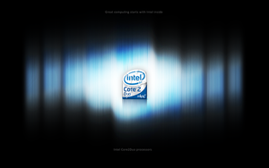 Intel Core2Duo wallpaper by mprox