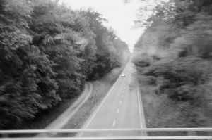 Film - LXXXVIII - out of a moving train by Picture-Bandit