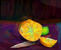 Orange and Lime by ixnivek