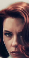 Black Widow - Closeup by LindaMarieAnson