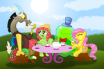 Tea Party by AleximusPrime