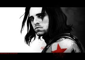 -The Winter Soldier- by obsceneblue