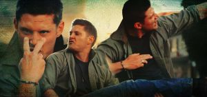 Jensen Ackles Eye of the Tiger by xx-dreamingsoul